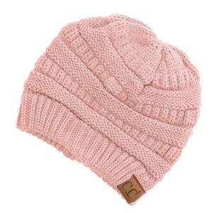 NWT C.C. Pink Beanie